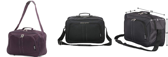 Aerolite underseat carry on duffel bag basic economy