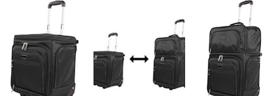 Ciao Expandable under seat carry on bag basic economy