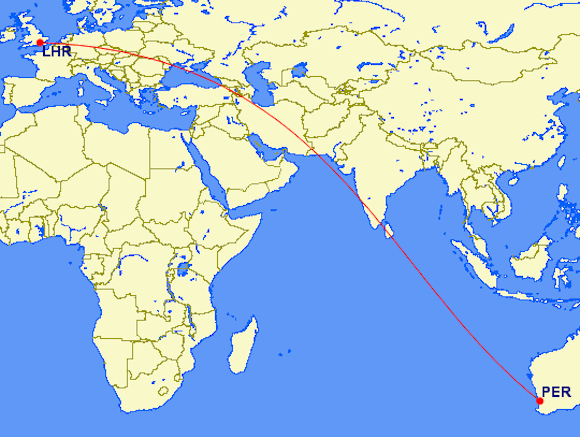 The 10 Longest Nonstop Flights in the World - Blog | Airfarewatchdog
