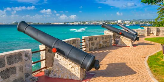 canons in bridgetown barbados carlisle bay barbados