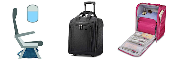 Samsonite wheeled underseat carry on basic economy