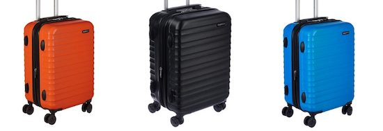 Best Carry On Luggage 2019 Amazon Basics Spinner Carry On Bag