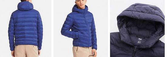 lightweight winter Uniqlo jacket puffer