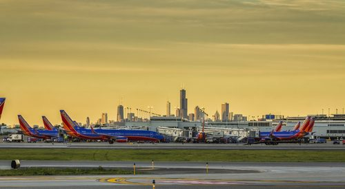 Chicago Midway Airport Southwest