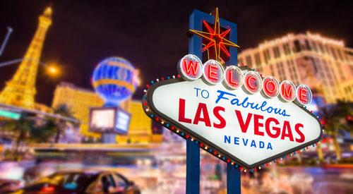 Las Vegas sign strip