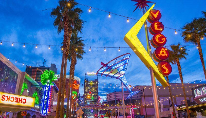 Fremont Street in Las Vegas Neon Signs