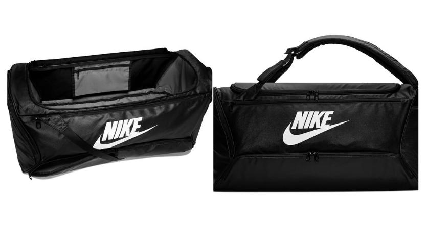 Nike Brasillia Convertible Duffle Backpack in black