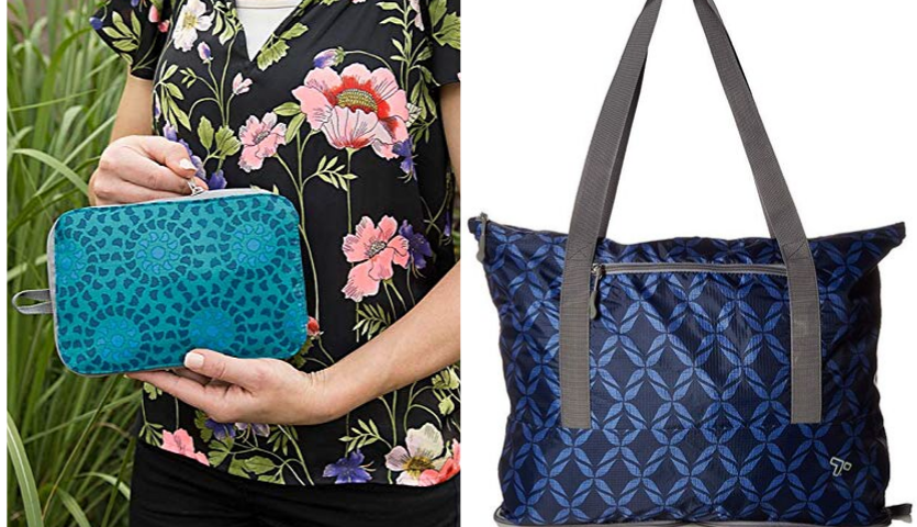 Patterned Tote Bag for Travel