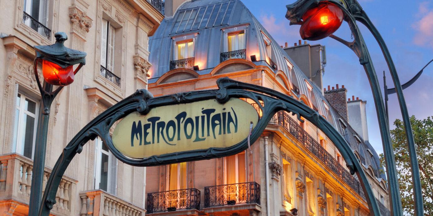 Paris-Metro-Entrance