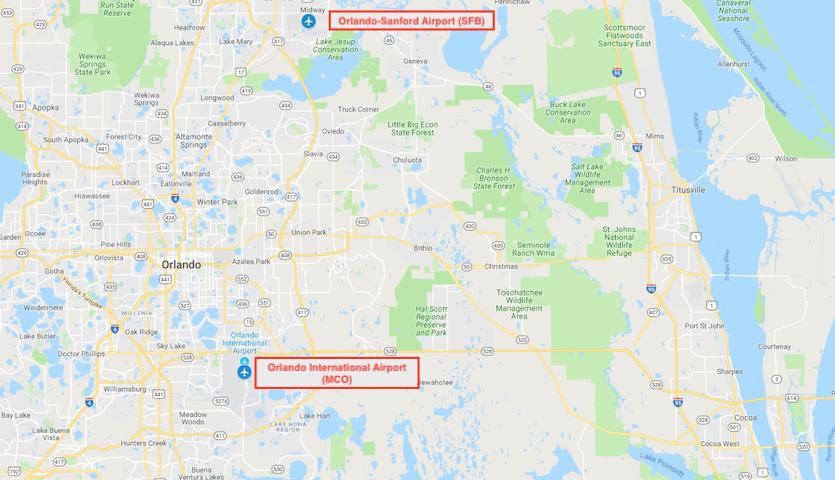 map-of-orlando-airports