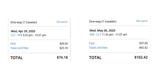 cheap-flight-from-charlotte-CLT-to-vancouver-YVR-178-roundtrip-on-united