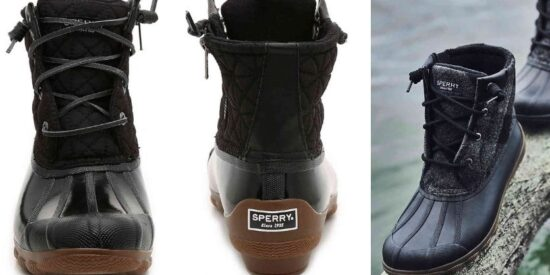 black-perry-duck-boot