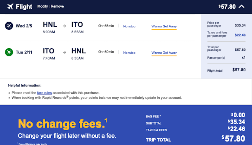 cheap-flight-from-honolulu-HNL-to-hilo-ITO-58-roundtrip-southwest