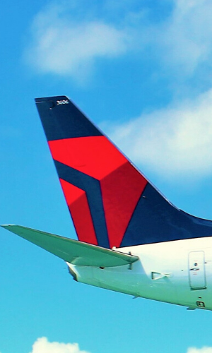 delta air lines tail
