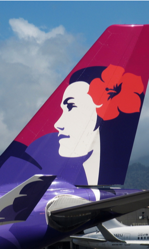 hawaiian airlines livery tail